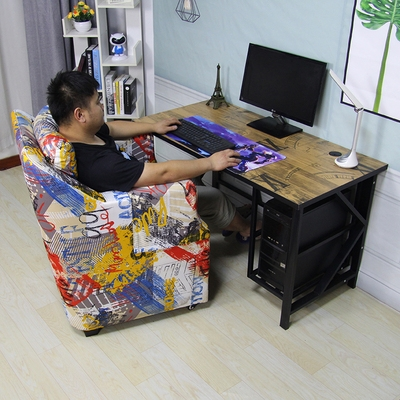 2020 New Internet Cafe Tables and Chairs Internet Cafe Single Sofa Office Gaming Tables and Chairs Home Desktop Computer Desk Set