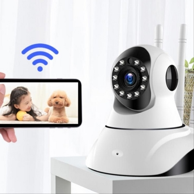 Smart wireless wifi mobile phone vision night vision camera HD network set remote home outdoor monitor night