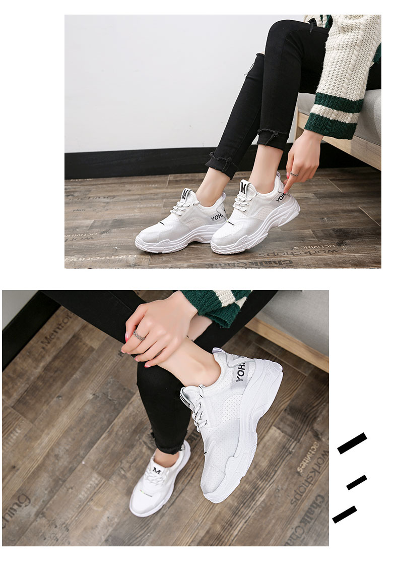 2018 summer new casual shoes female students fashion wild Harajuku ulzzang flat shoes women breathable 67