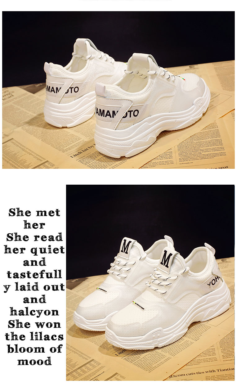 2018 summer new casual shoes female students fashion wild Harajuku ulzzang flat shoes women breathable 73