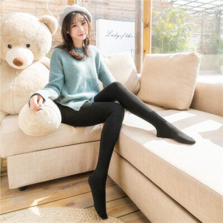 【正常发货】羊脂绒润肤瘦腿打底裤