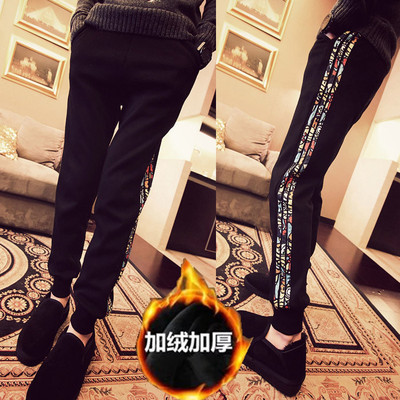 Junior Men's 12-13-14-15-16 years old junior high school students spring and autumn winter sports pants boy trousers