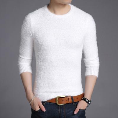 Áo len mùa đông nam ấm cơ sở áo len sang trọng áo len mùa đông quần áo nam phòng hộ mùa đông quần áo thủy triều - Áo len