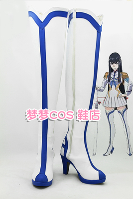 taobao agent No. 1843 KILL la KILL Double Cut Girl Ghost Dragon Academy Gaoyue cosplay shoes COS shoes