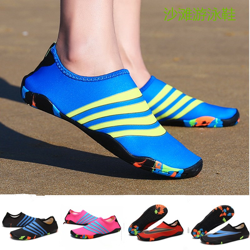 c315772aae27 Parent-child children beach swimming wading shoes women anti-slip stream  snorkeling shoes female skin shoes male Fitness Treadmill Shoes