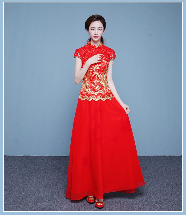 结婚礼服旗袍 - 花雕美图苑 - 花雕美图苑