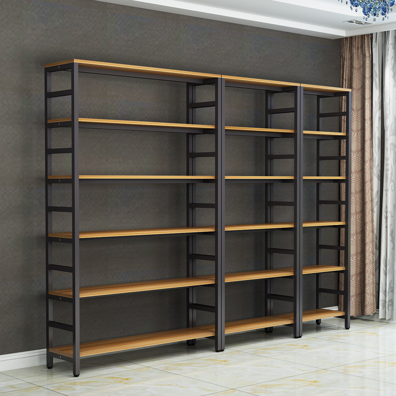 Boutique Showcase Supermarket Shelves Show Sample Shoe Display Stand Office Product Portfolio Cabinet Shelf