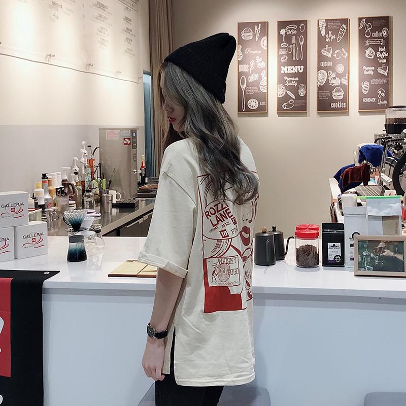 【抖音爆款】休闲圆领印花T恤