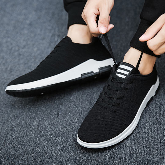 2019 new spring men's shoes trend wild low shoes men's sports shoes old Beijing shoes shoes shoes