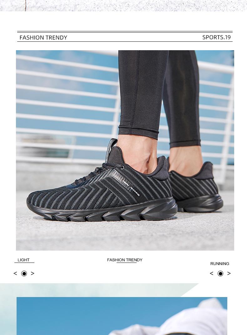 Đỉnh cao giày chạy bộ nam 2020 mới chính thức chính thức hấp thụ sốc thoáng khí chống mài mòn giày thể thao chống trượt giày nam giày chạy bộ nam - Giày chạy bộ