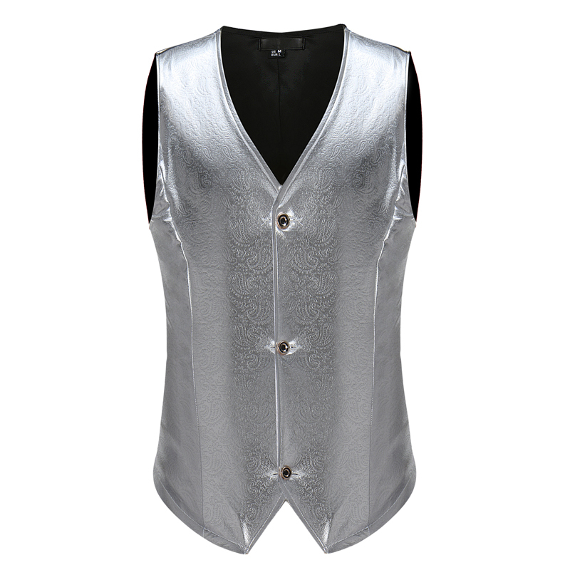 Stitching men's sleeveless hot stamping suit vest vest vest performance