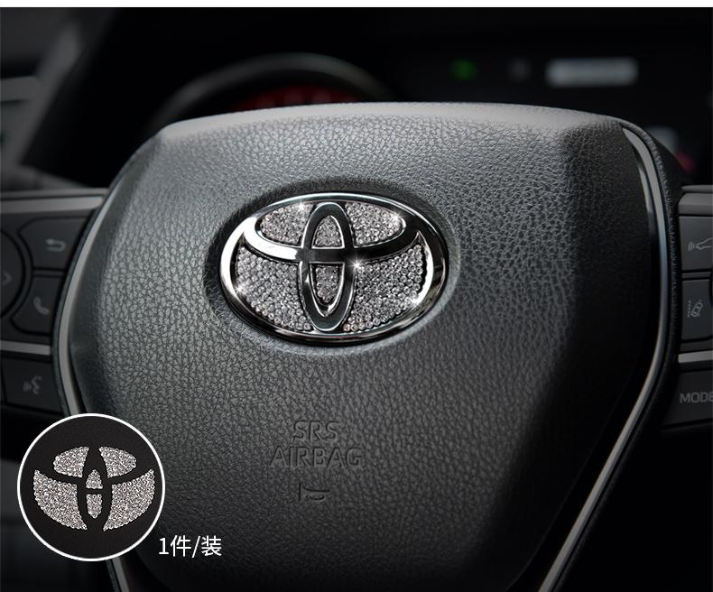 Bộ ốp đính đá trang trí nội thất Toyota Camry 2019 - 2020 - ảnh 15