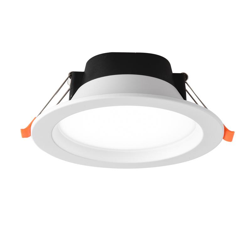 巨祥筒灯led嵌入式孔灯洞灯家用简灯客厅吊顶三色天花射灯牛眼灯