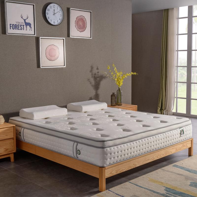 泰国天然乳胶独立弹簧床垫席梦思 1.8m床1.5m床五星级酒店2*2.2米