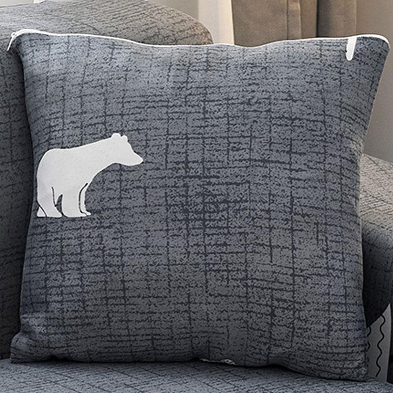 【南极人】沙发套布艺抱枕套四季通用
