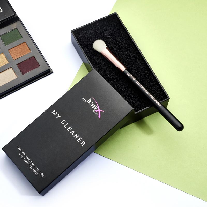 JESSUP化妆刷清洁盒干洗海绵清洗器硅胶湿洗刷子快速清洗眼影工具