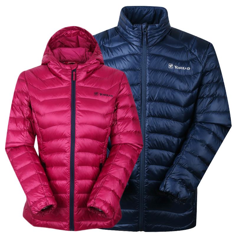 Исследовать дорога человек куртка 17 осень и зима на открытом воздухе сверхлегкий теплый мужской и женщины любители вниз одежда HADF91085/92086