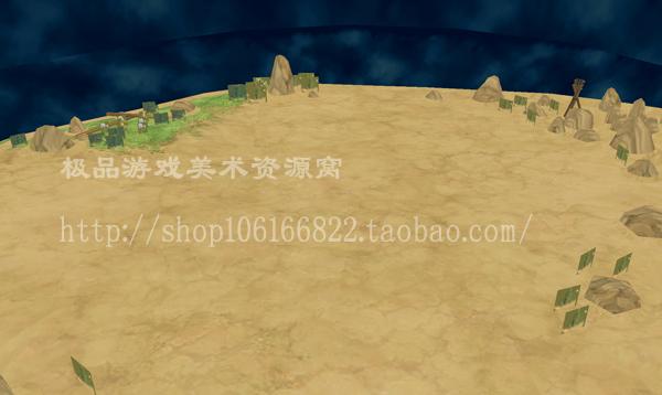 日式唯美 仙乐传说2 3D 场景 游戏 美术 资源 MAX格式 50张