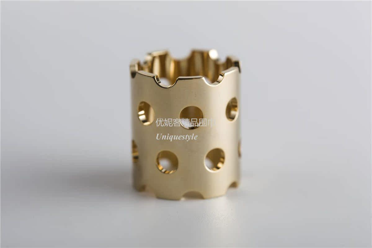 Цвет: Золотой полым из шелковый шарф пряжка 2.1