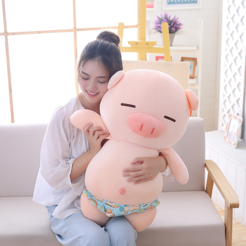 创意礼品创意毛绒玩具流氓猪泳裤创意礼物小猪公仔