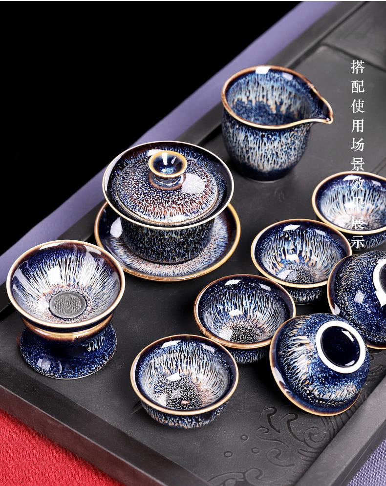Jingdezhen built red glaze, the tea in tea ware single ceramic fair keller kung fu home drawing tea cup