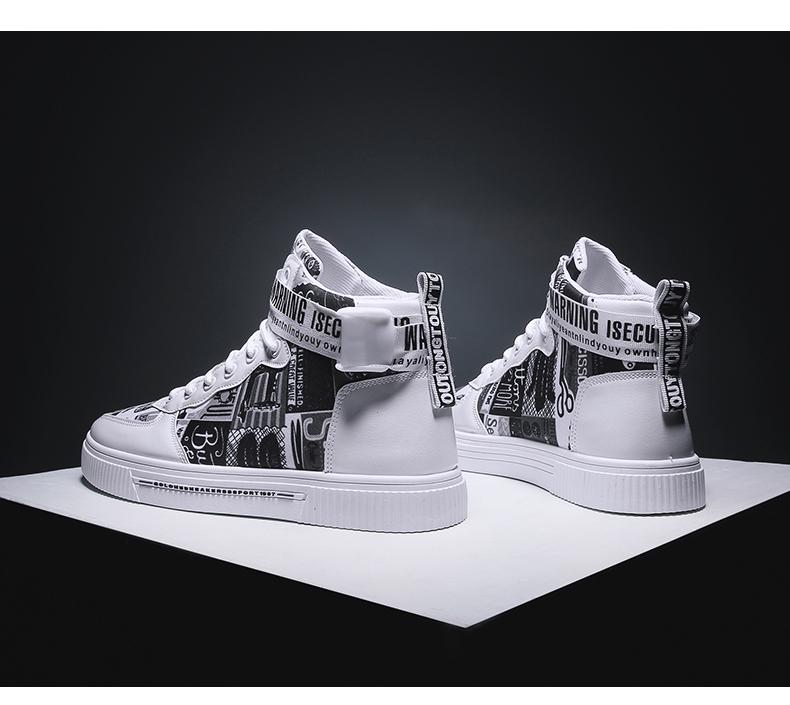 Fly Sneaker體育運動裝備春夏季男女同款高幫帆布鞋正韓男士黃色透氣板鞋青少年男鞋子情侶