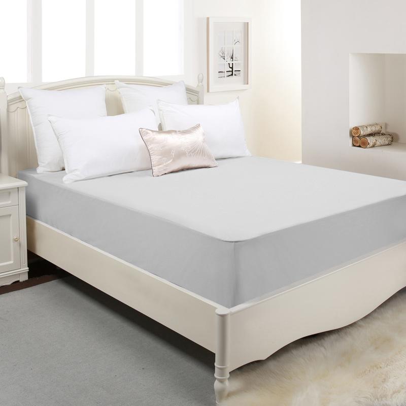 全棉防水防螨床笠单件床罩隔尿透气可水洗床垫保护罩防滑固定-给呗网