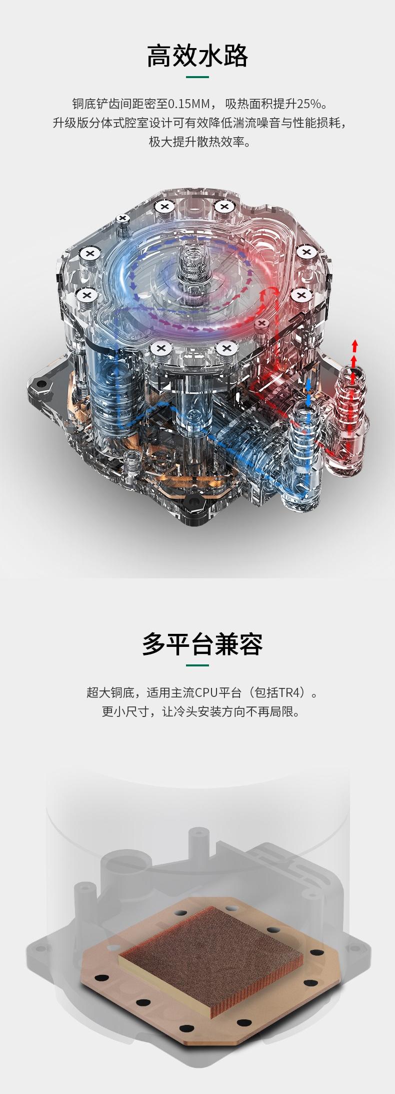 电脑猫和路由器一体_九州风神 堡垒240EX castle 240 EX 一体水冷散热器 PCPowerCase Computers ...