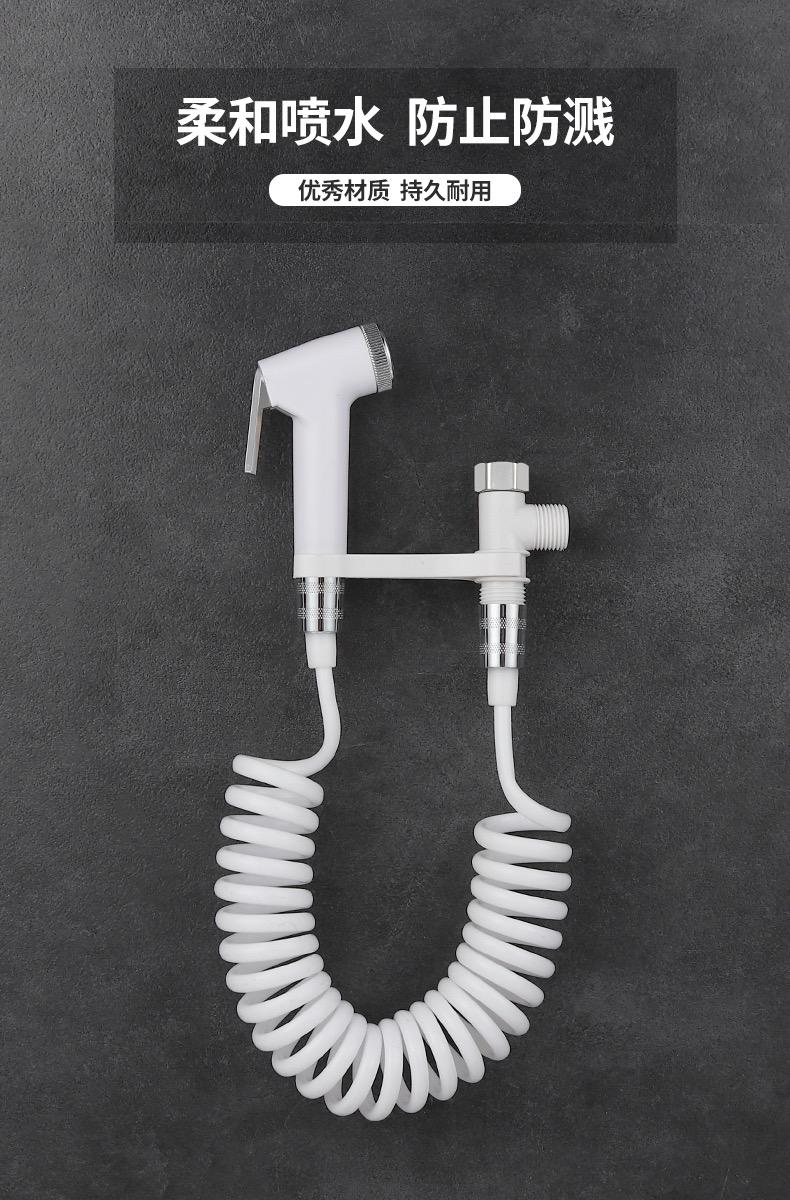 蹲坑式马桶水箱化妆室家用通用节能挂墙式高压衝厕器大冲力抽水箱详细照片