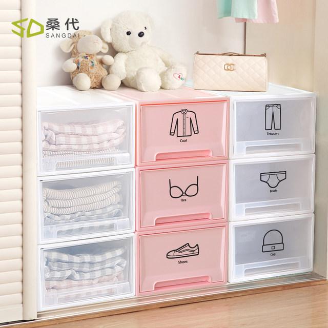 Closet Clothes Drawer Storage Box