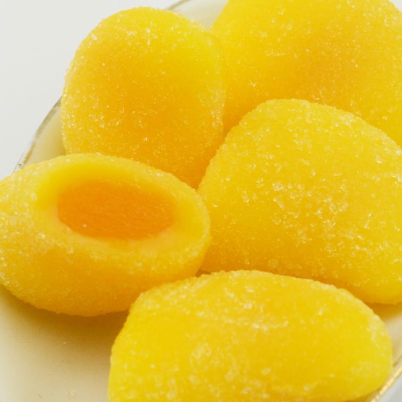 爆浆芒果夹心软糖500g