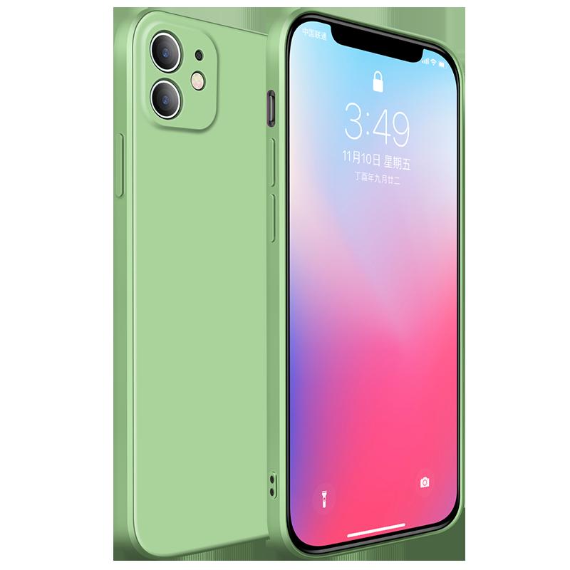 官方新款直边液态硅胶苹果11手机壳
