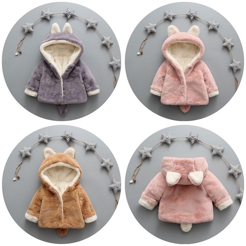棉袄小宝宝棉衣秋冬宝宝加厚儿童0女外套1加绒2男童棉服3岁婴儿潮