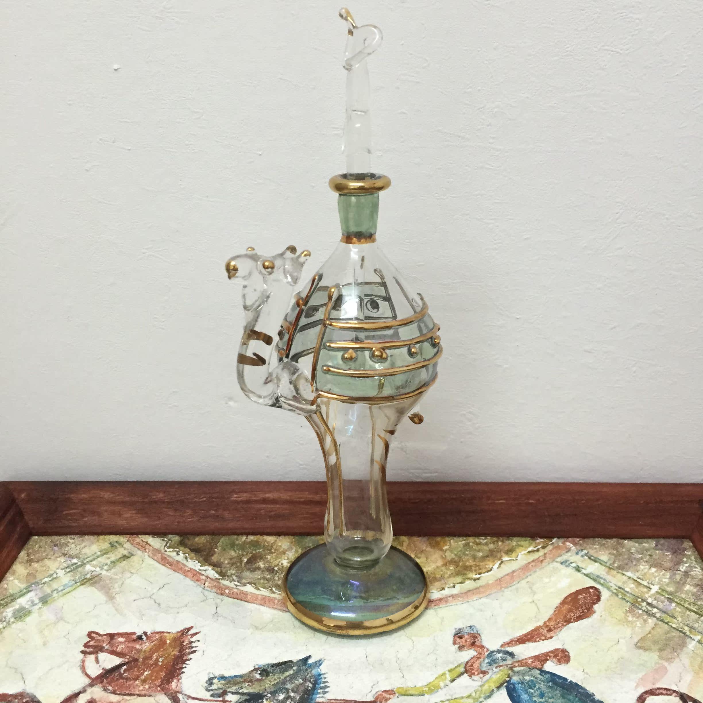 埃及埃及香精瓶魔法油手工艺品 吉祥大象 呆萌 大容量 中号