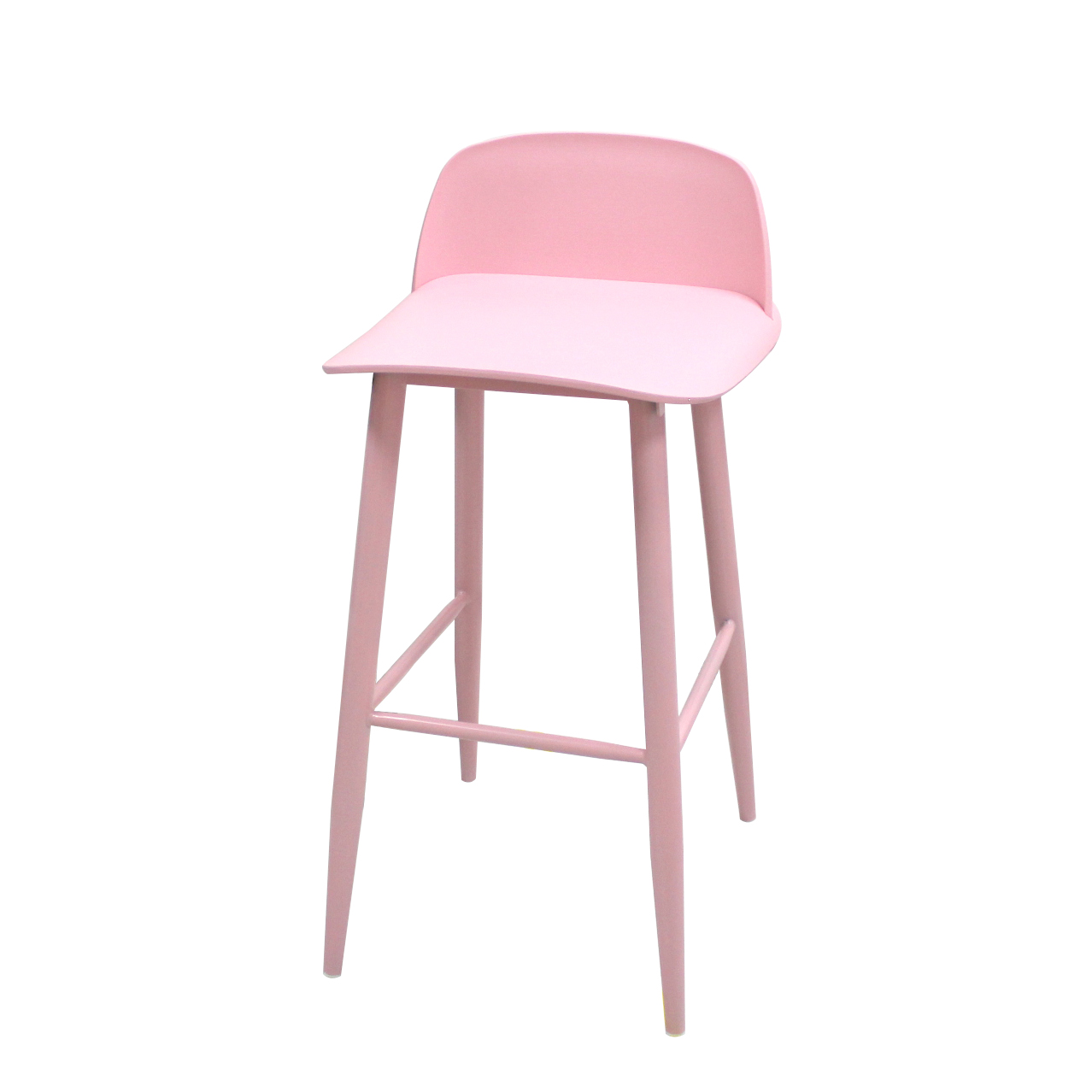 Nordic Ins Net Red Modern Minimalist Back Bar Chair High Stool Table And Chairs Front