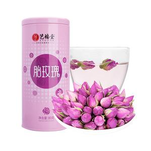 【艺福堂】香甜玫瑰花茶80g
