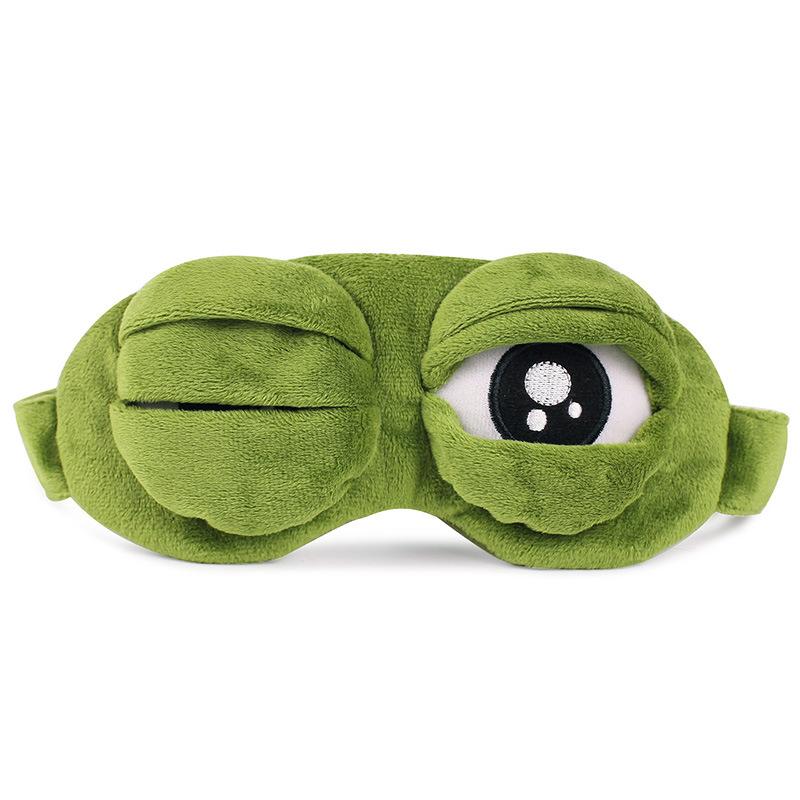 眼罩睡眠遮光男女睡觉可爱韩版卡通儿童搞怪学生护眼罩缓解眼疲劳