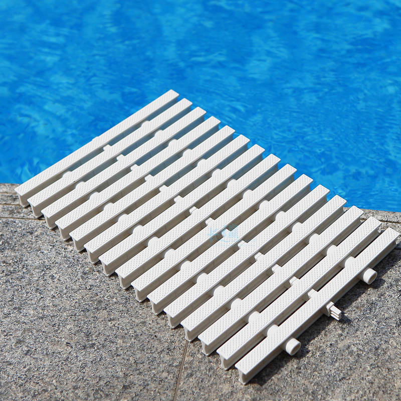 Swimming Pool Grille Bath Bathroom Kitchen Trench Drainage Grate Overflow Gutter Cover Surface Plate Three