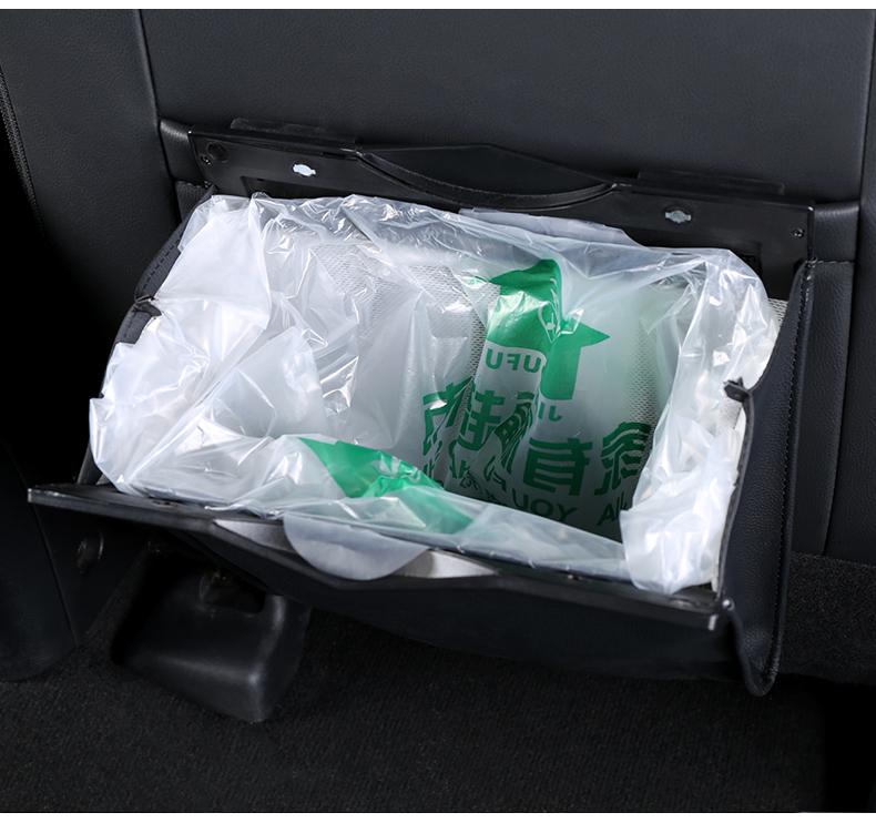 Túi đựng rác tiện ích trên xe oto Nissan Terra - ảnh 23