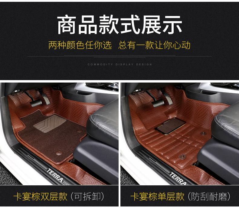 Thảm trải sàn xe Nissan Terra 2018 ( mẫu 3) - ảnh 5