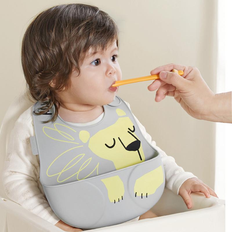 【耀旻】宝宝吃饭围兜婴儿防水围嘴