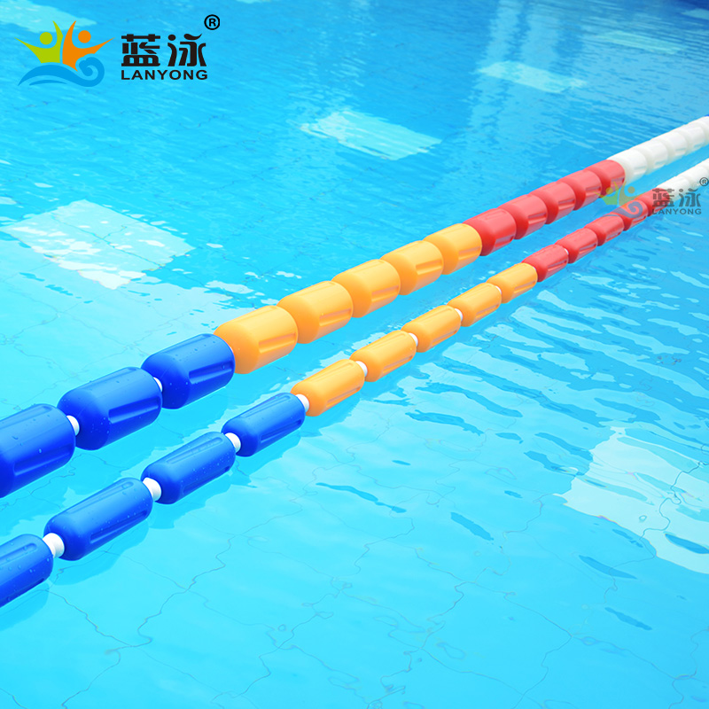 Swimming pool lane line depth pool divider pool wave strip ...