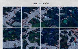 海边沙滩地图--夜间沙滩版