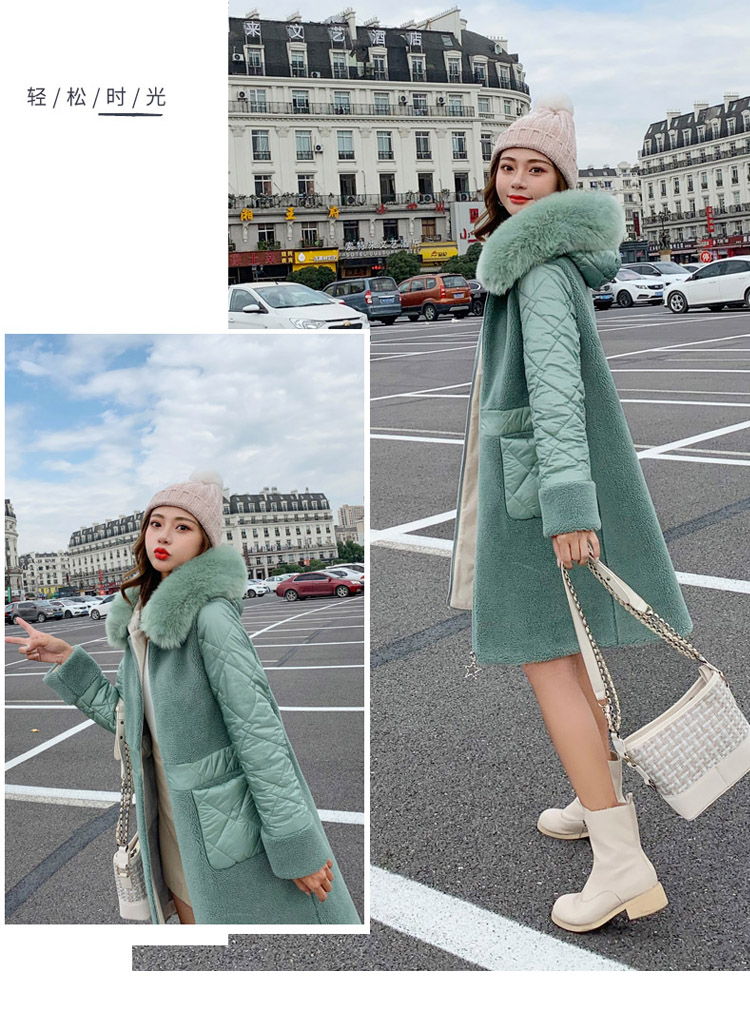 Deep degree 2020 autumn dress new large size women's autumn fashion luxury fur all-in-one jacket 9V9 54 Online shopping Bangladesh