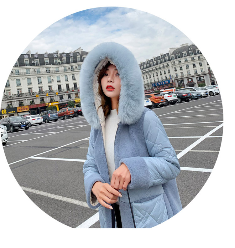 Deep degree 2020 autumn dress new large size women's autumn fashion luxury fur all-in-one jacket 9V9 59 Online shopping Bangladesh