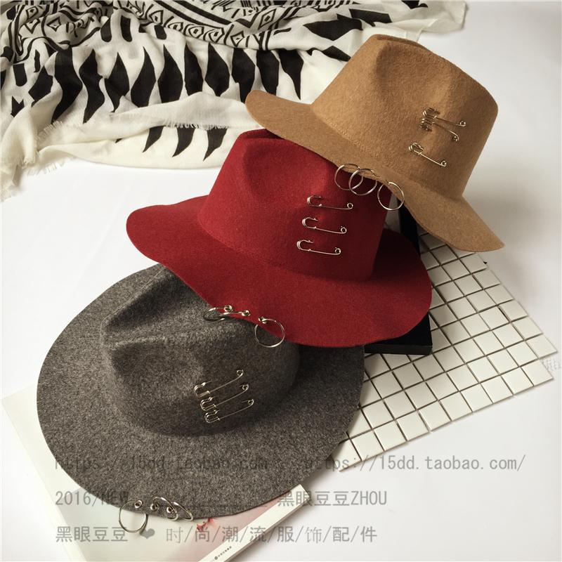 Chapeau pour homme cône en mélange de laine - Ref 1926046 Image 20