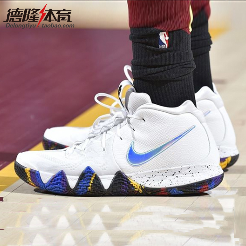 best service 81220 eca12 ... Nike Kyrie 4 Irving 4th generation NCAA Drew Uncle 41 points to  commemorate the monkey year