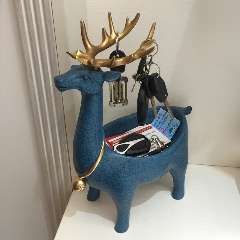 Творческое творчество поколение Простое хранение крыльца для обуви ключ Box Nordic декоративные украшения аксессуары для дома