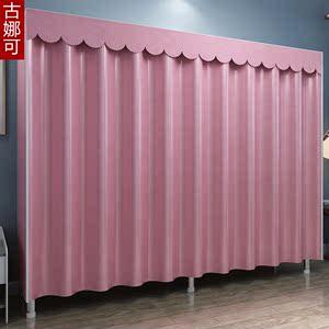 密封简易布衣柜组装现代简约挂衣橱布艺折叠租房家用单人宿舍柜子