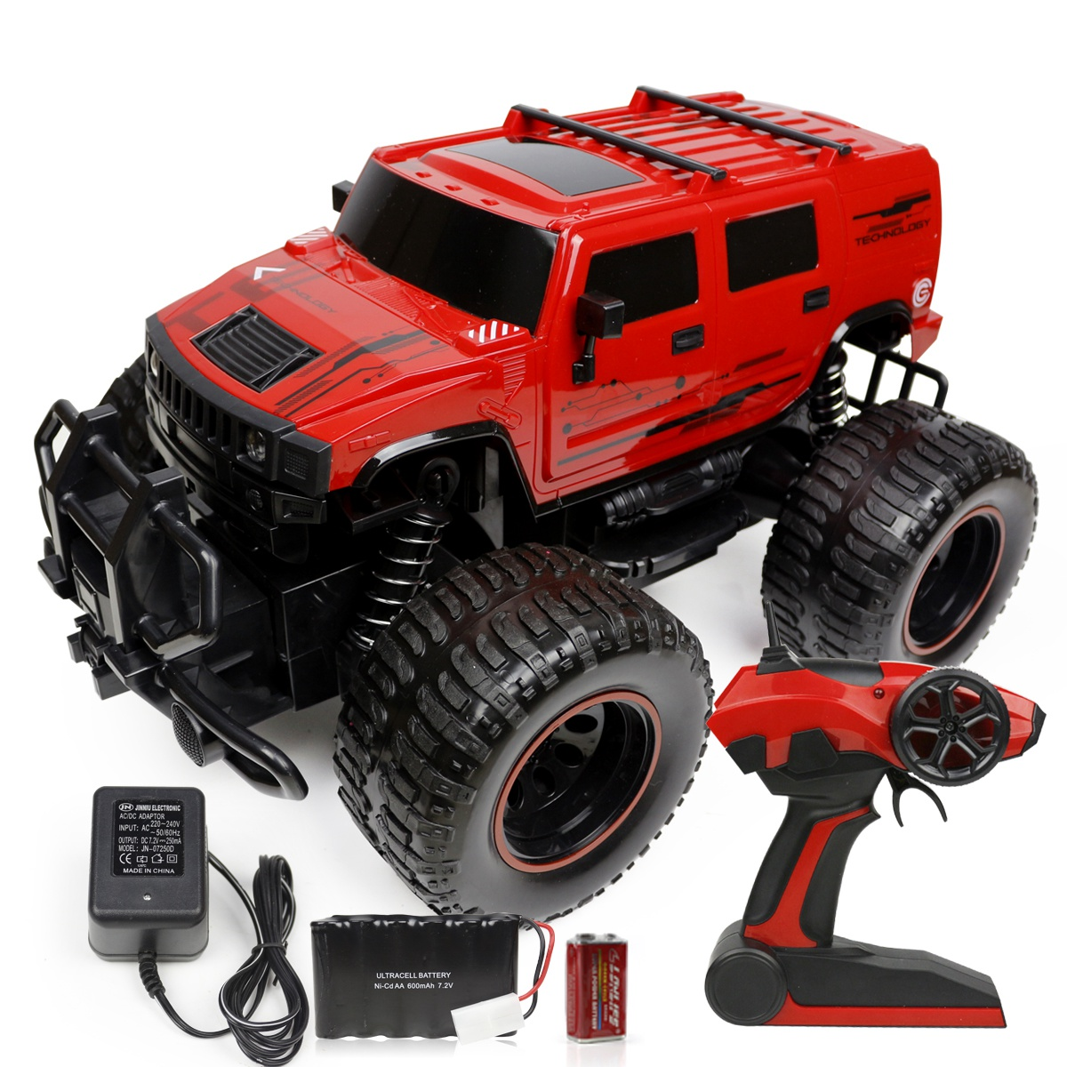 Usd 15385 Children 2 4g Remote Control Car 18 Big Foot Toy Lightbox Moreview